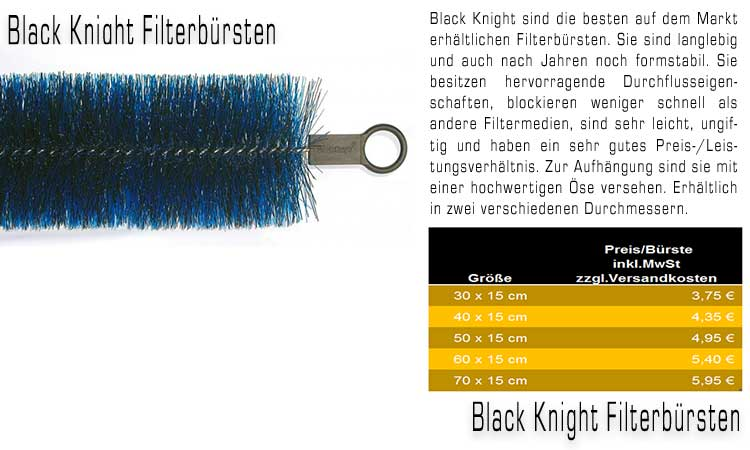 Filgerbürsten Black Knight