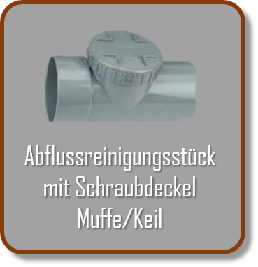Wadal Fittings Abflussreinigungsstück
