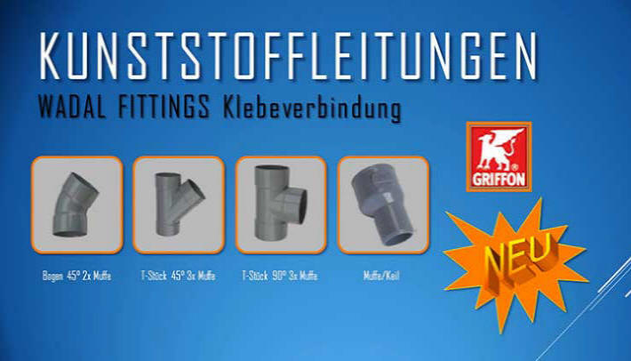 Wadal Fittings Klemmsättel